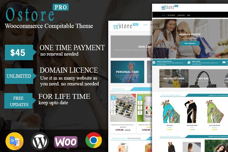 oStore Pro WooCommerce Theme