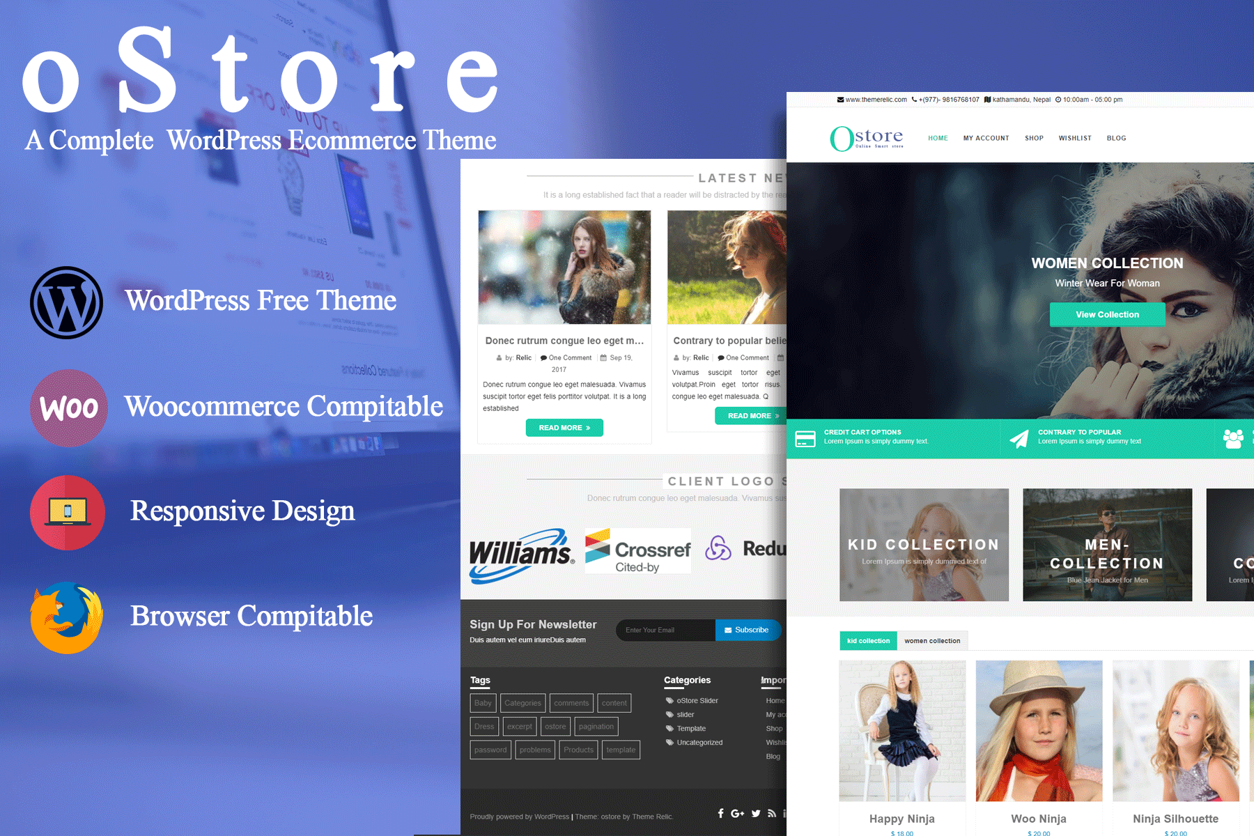 OStore WooCommerce Store Theme